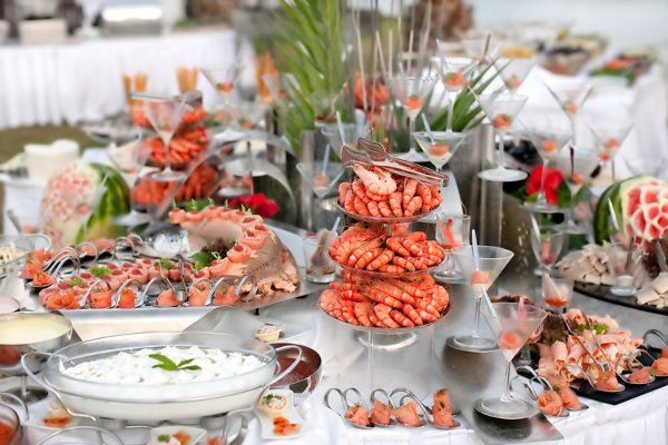 Shrimp buffet