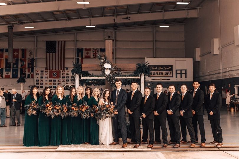Hangar Wedding