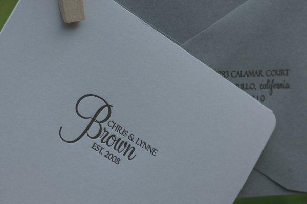 Tmx 1217575355807 Browntouse El Dorado Hills wedding invitation