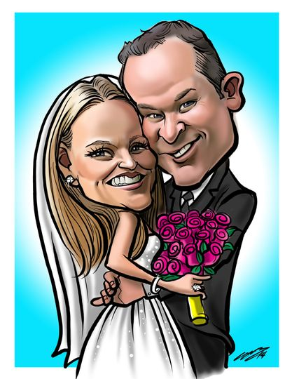 Pop Toons Live, Cartoon Caricature Artists