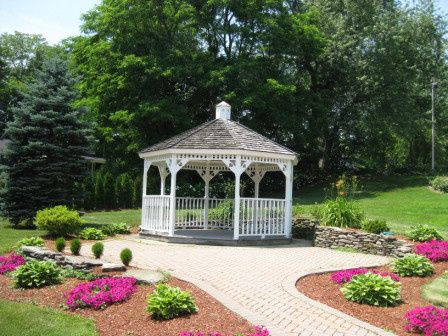 Michael's Function Hall gazebo