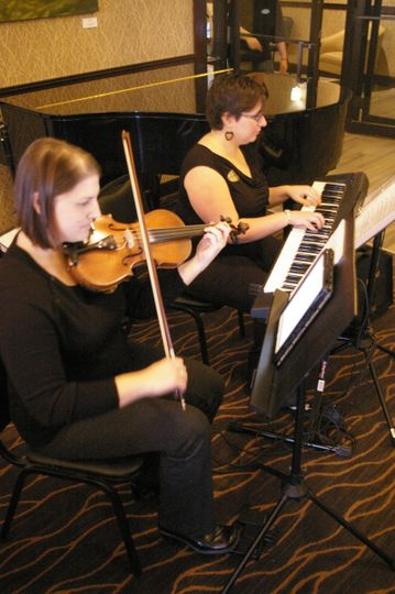 Keyboard and violin