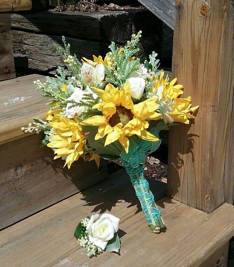 Brides Sunflower Bouquet