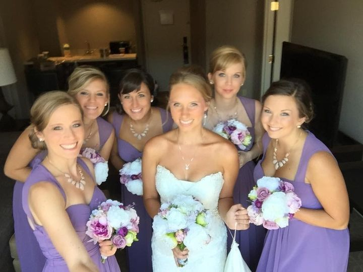 Tmx 1440613207397 Lyndsie And Bridesmaids Oak Creek, Wisconsin wedding florist