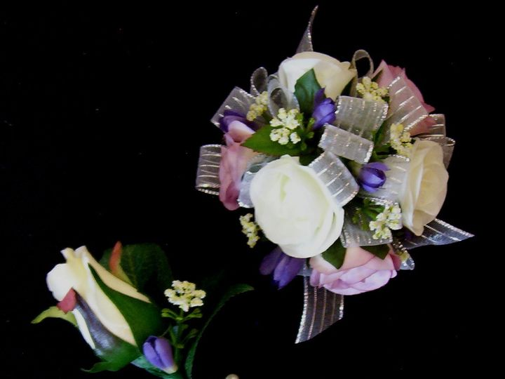 Tmx 1472148545628 Wrist Corsage And Matching Boutonnier Oak Creek, Wisconsin wedding florist