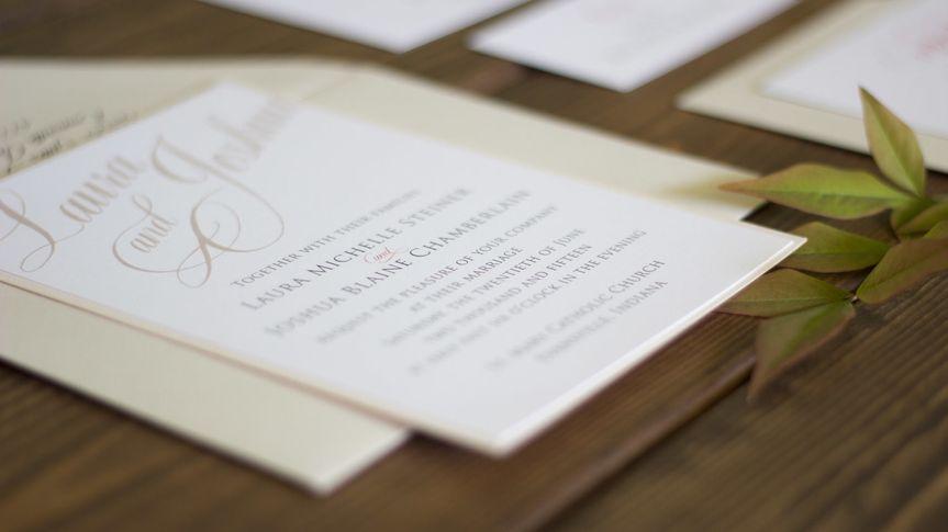 script wedding invitations evansviile indiana