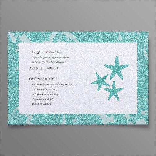 Tmx 1413919958312 Aryn Owen 6x9 Invite Land Web Manahawkin wedding invitation