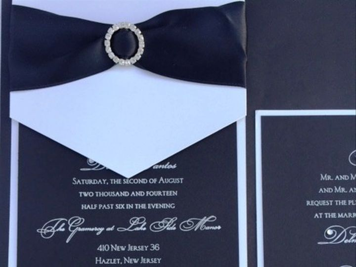 Tmx 1456756682430 Img7217 Manahawkin wedding invitation