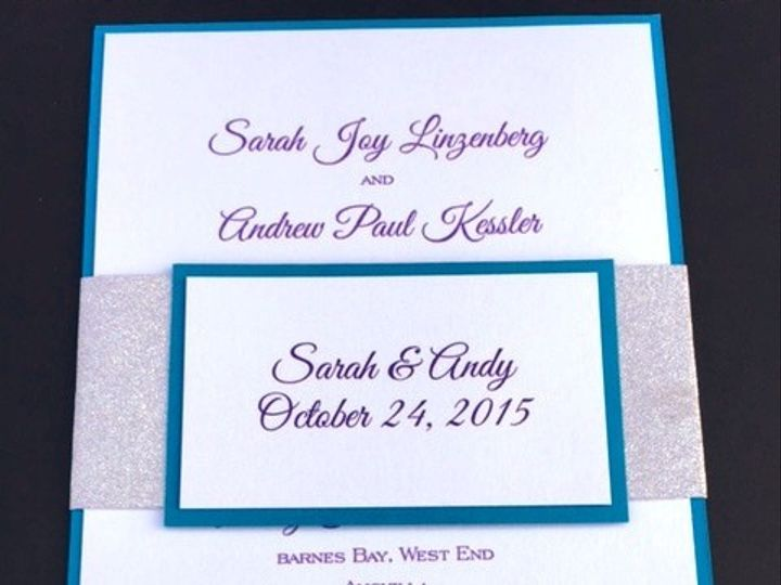 Tmx 1456756690460 Img7213 Manahawkin wedding invitation