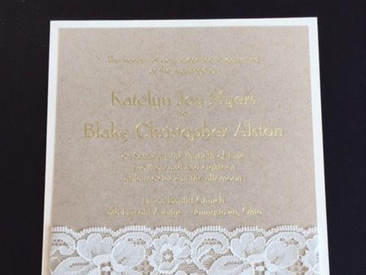 Tmx 1456756710990 Img3287 Manahawkin wedding invitation