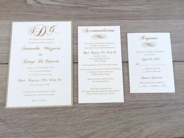Tmx 1456756719088 Img7491 Manahawkin wedding invitation