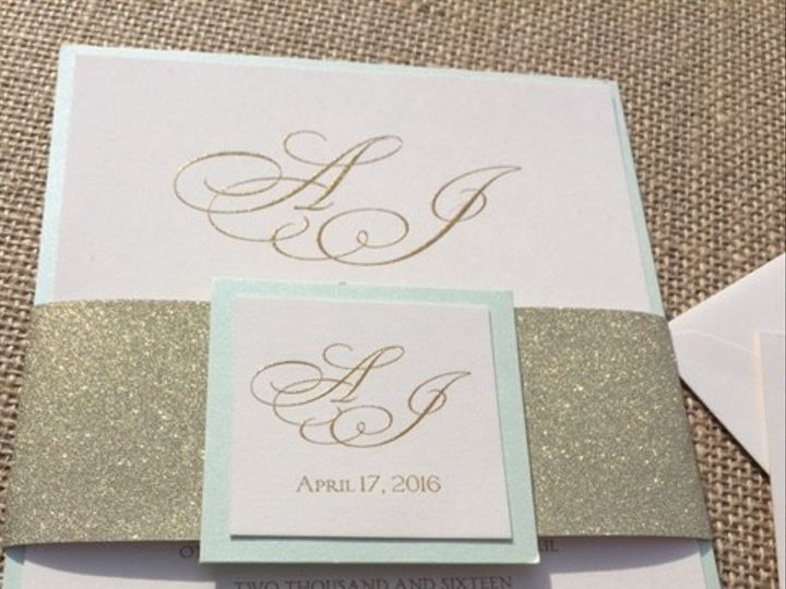 Tmx 1456756888046 Img7441 Manahawkin wedding invitation