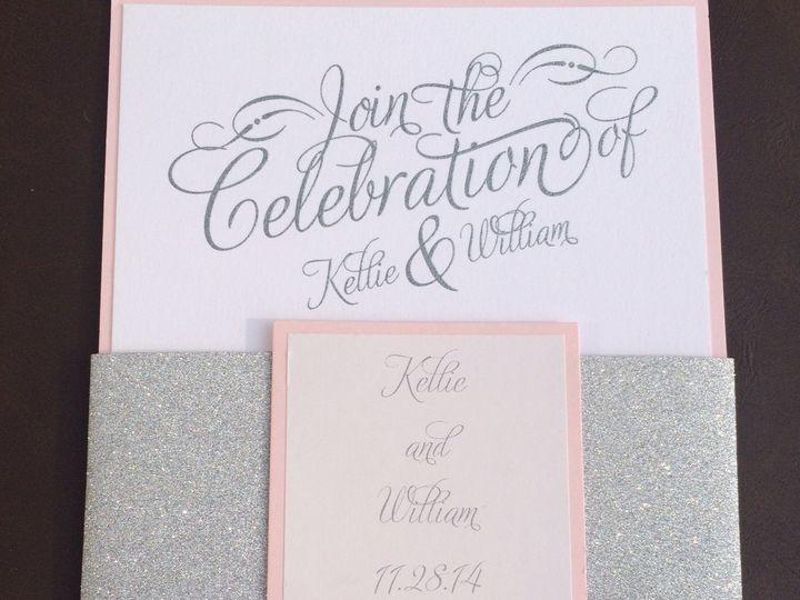 Tmx 1456756907468 Kelly Glitter Manahawkin wedding invitation