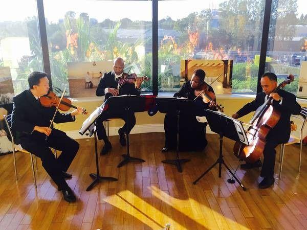Orange County string ensemble 1st concert at anaheim