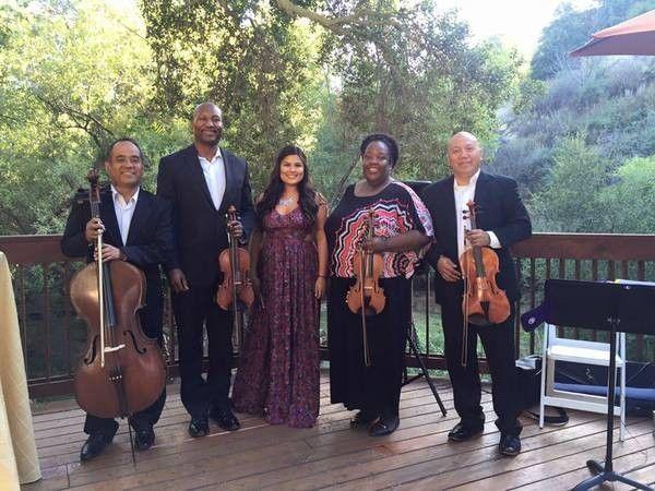 String quartet covering Camarillo California