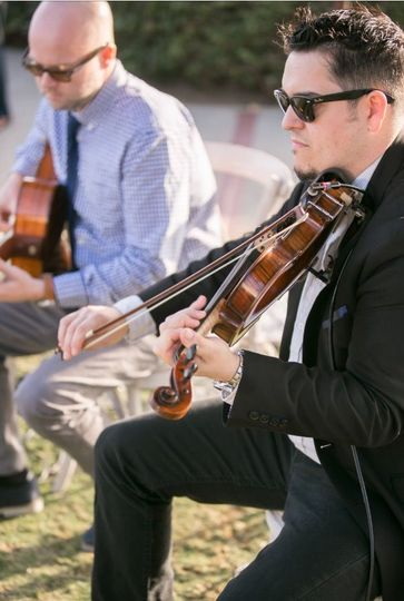 The modern duo (guitar & violin duo)