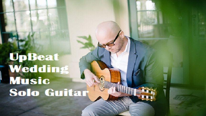 Solo wedding guitar