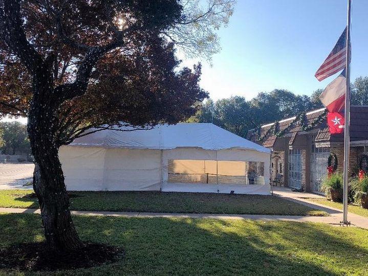 20'x40' tent windcrest