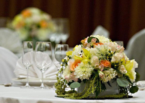We are happy to provide referrals for vendors such as Florists, DJ's, Chair rentals, etc...