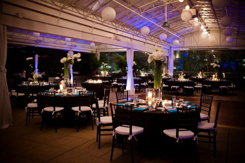 Wedding Reception Venues In Downtown Houston Veranda By Ceremony Venue