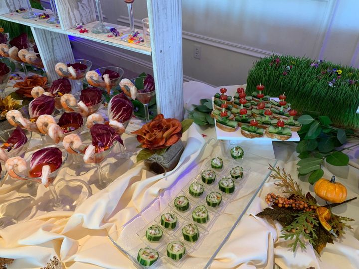 Hors d'oeuvre section