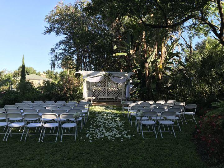 Ceremony site - Garden Terrace