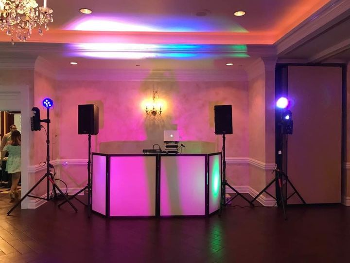 upscale dj booth