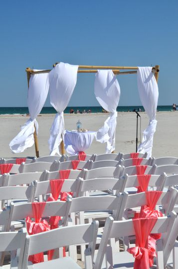 800x800 1375730029116 wedding set up organge beach shell