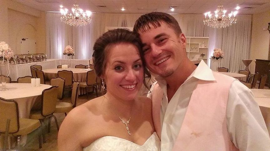 Mr. & Mrs. Tisdale had a great wedding and reception. Loved ones stayed till they made us leave...