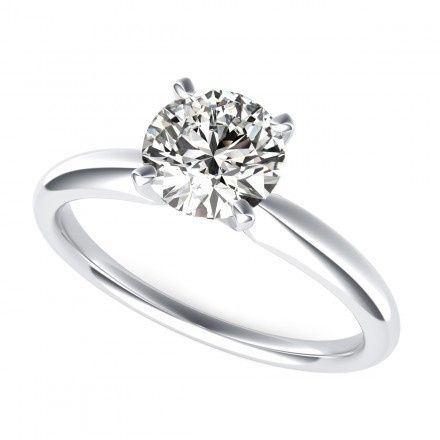Tmx 1449531478411 0810 Round Cut Four Prong Solitaire Engagement Rin Los Angeles wedding jewelry