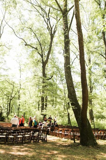 Get married under big old trees at The Music Camp