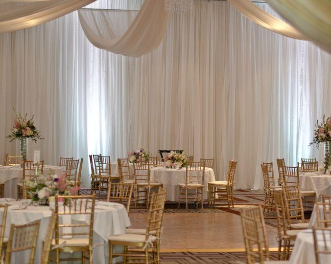 wedding reception ballroo