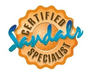 We are Certified Sandals Specialist