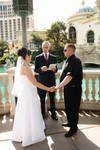 Wedding in Las Vegas at the Bellagio Hotel