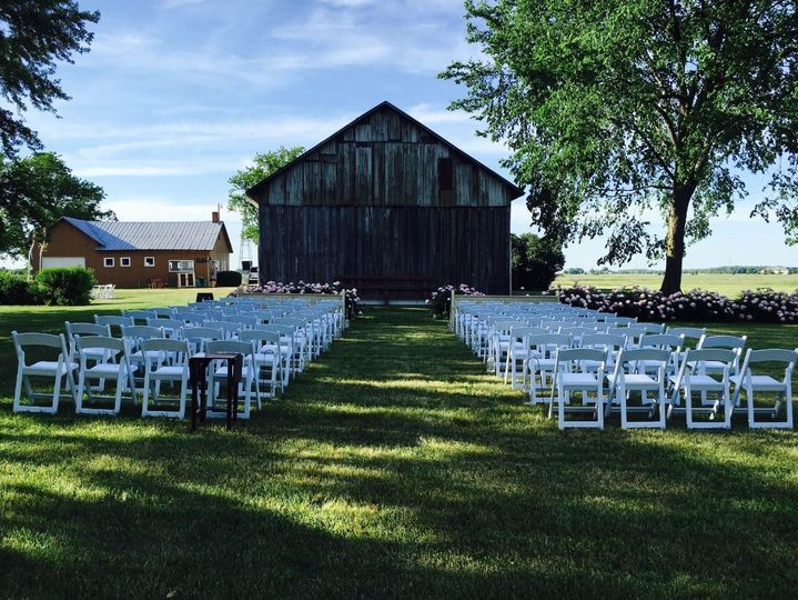 Our Rustic barn backdrop is a favorite among couples!!!
