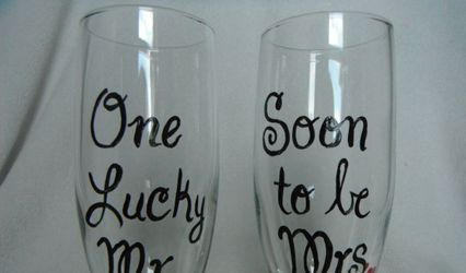 Hand Painted Glass Gifts
