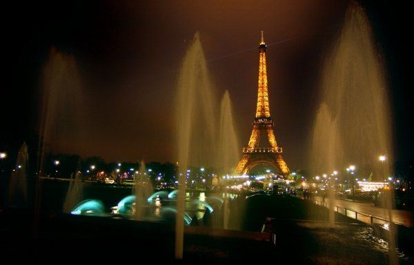 The very romantic Paris France