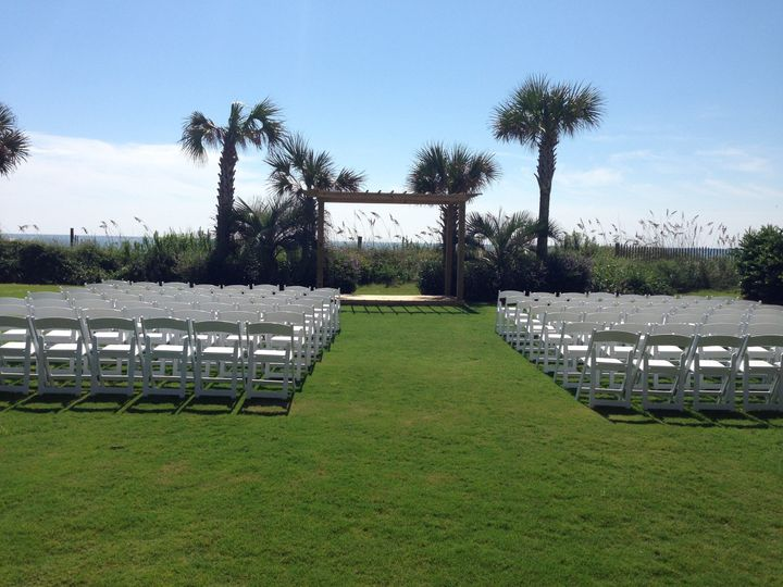 North Lawn -Beautiful outdoor lawn space overlooking the dunes and Atlantic Ocean.  The space comes...