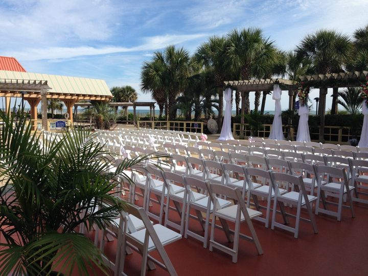 Tmx 1386003419835 Breakers Deck  Myrtle Beach, SC wedding venue