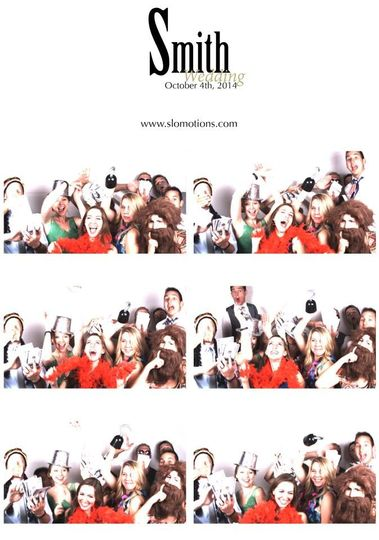 Each guest receives a 4x6 print from their time spent in the SLO Motions Video/Photo booth, and...