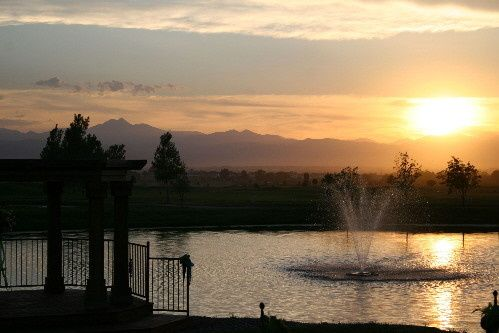 pond sunset1