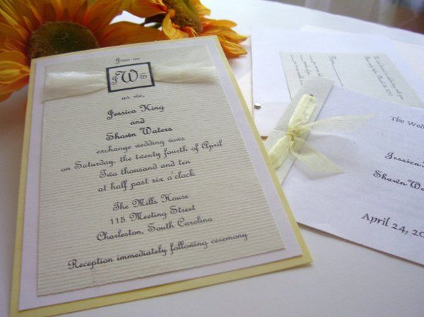 Southern Belle This multi layered pocket fold invitation has such subtle beauty…once you see it...