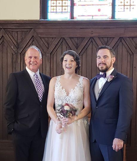 Beautiful chapel wedding