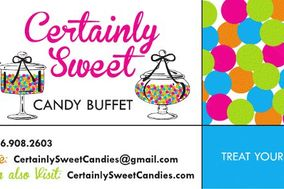 Certainly Sweet Candy Buffet