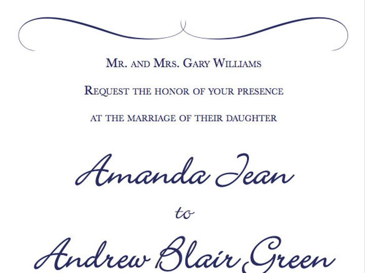 Tmx 1454533754200 Screen Shot 2016 02 03 At 4.08.35 Pm Winston Salem wedding invitation