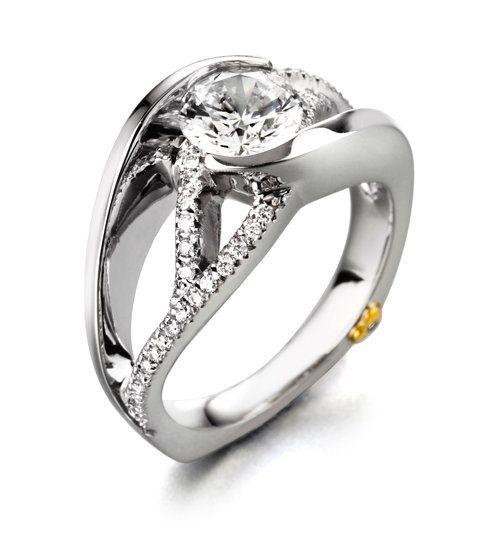 Tmx 1311355638885 Engagementringawestruck Lemoyne wedding jewelry