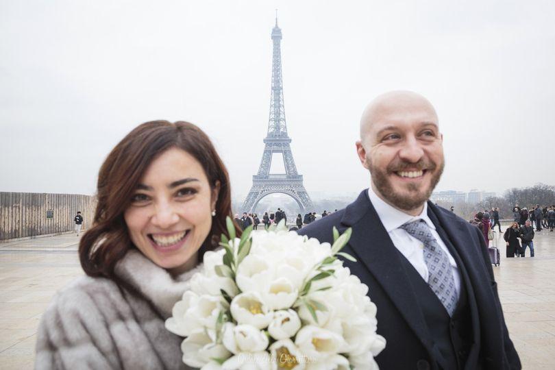 Super happy at Trocadero, Paris