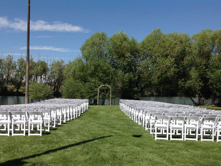 Tmx 1469117457484 Cermony Set Up Belgrade, MT wedding venue