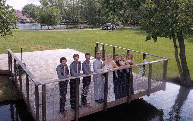 Tmx 1469118809581 Conner And Lindsay Dock Belgrade, MT wedding venue