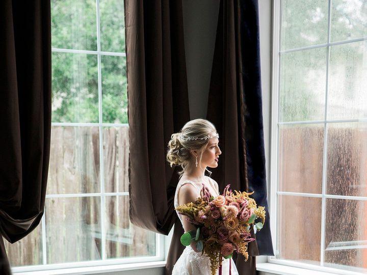 Tmx Portrain Of Bride Standing In Window 51 691192 158231517263649 Cypress, TX wedding florist